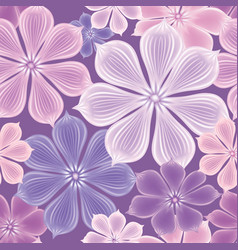 Flowers seamless background floral seamless vector