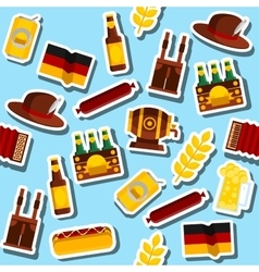 Germany collage Travel Concept vector image vector image
