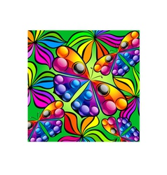 Mosaic colorful butterfly vector image
