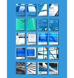 Cover brochures template vector