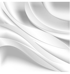 Soft silky fabric silk waves background vector