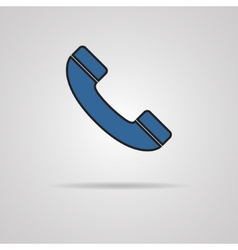 a phone icon vector image vector image