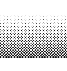 Big dots halftone background Overlay vector image vector image