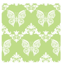Butterfly Ornament Pattern vector image