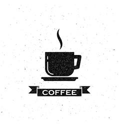 Coffee break label vector