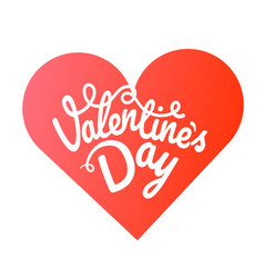 Happy valentines day greeting card valentines vector