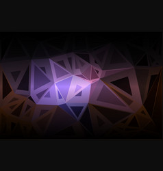 Purple brown black random sizes low poly vector