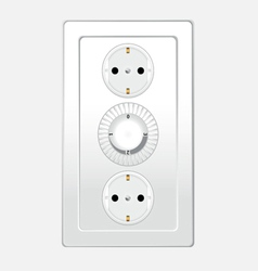 switch three for home vector image