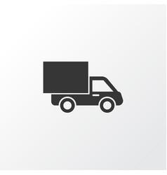 van icon symbol premium quality isolated lorry vector image vector image