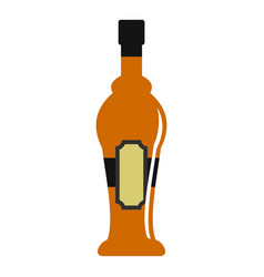 Alcohol bottle icon isolated vector