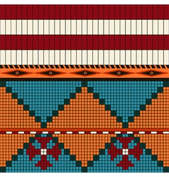 American indian pattern vector