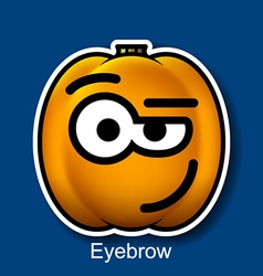 Eyebrow vector