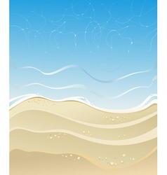 Summer sea vector