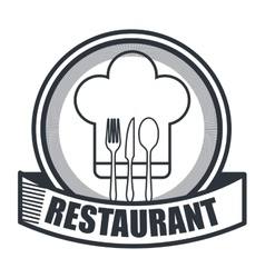 Menu restaurant design vector