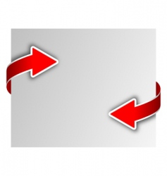arrows vector image vector image