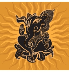 Ganesha Hand drawn vector image