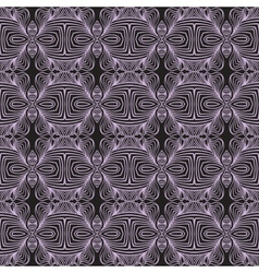 Geometric linear art deco pattern vector
