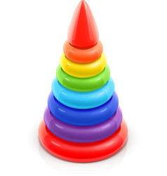 pyramid toy vector image
