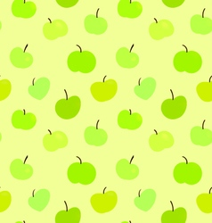 Seamless Pattern Apples EPS10 vector image