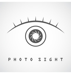 Photo eye vector