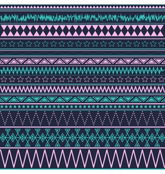 Abstract ethnic colored geometric backgound vector