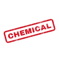 Chemical Text Rubber Stamp vector image vector image