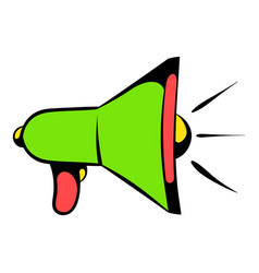 Megaphone icon icon cartoon vector