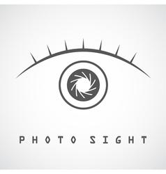 Photo eye vector image vector image
