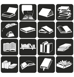 Books and literature vector