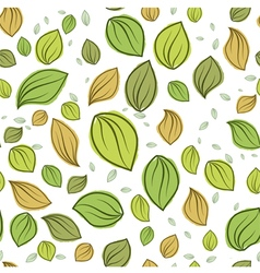 Leaves pastel color pattern seamless vector