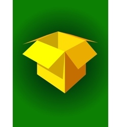 Box packing vector image