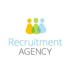 Recruitment agency vector
