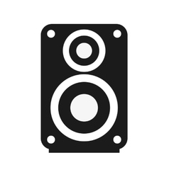 Single speaker icon vector