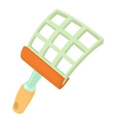 Swatter icon cartoon style vector