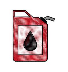 color blurred stripe fuel container with petroleum vector image