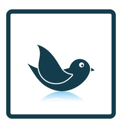 Bird icon vector image