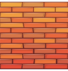 Cartoon Brick Wall vector image vector image