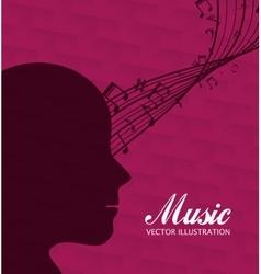 Music art graphic vector