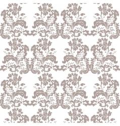 Vintage Damask Pattern flower ornament vector image vector image