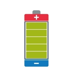 Battery energy power charge icon graphic vector