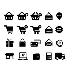 Shopingg icon vector