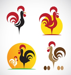 Image of an chicken design vector
