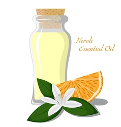 Neroli essential oil vector