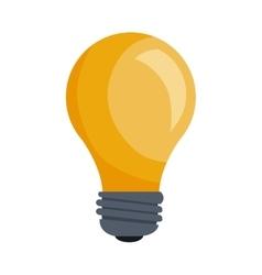 Bulb power light vector