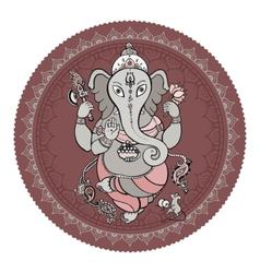 Ganesha Hand drawn vector image