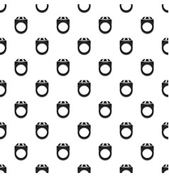 ring pattern vector image vector image
