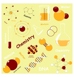 Chemistry elements vector
