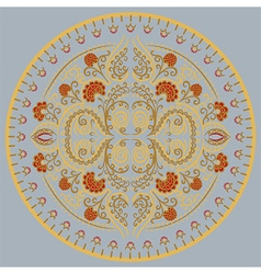 mandala color vector image