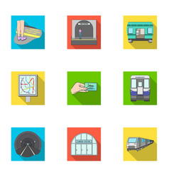 Public electric transport and other web icon in vector