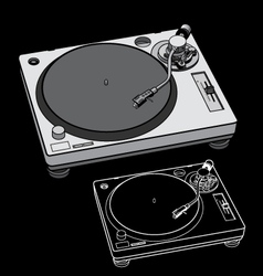 Turntable vector